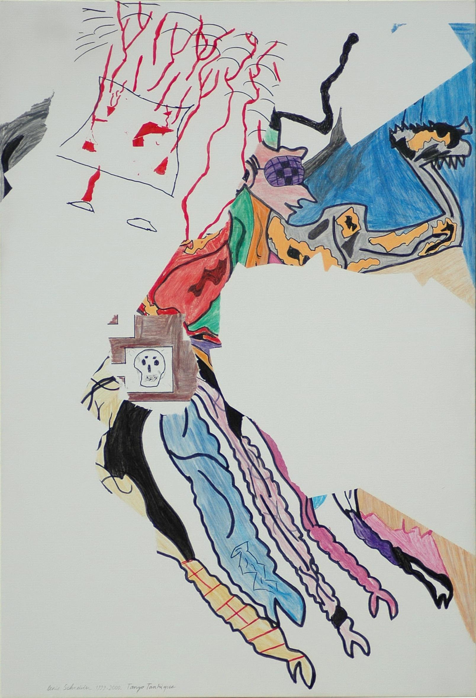 Tango Tantrique 130×89 – 2000