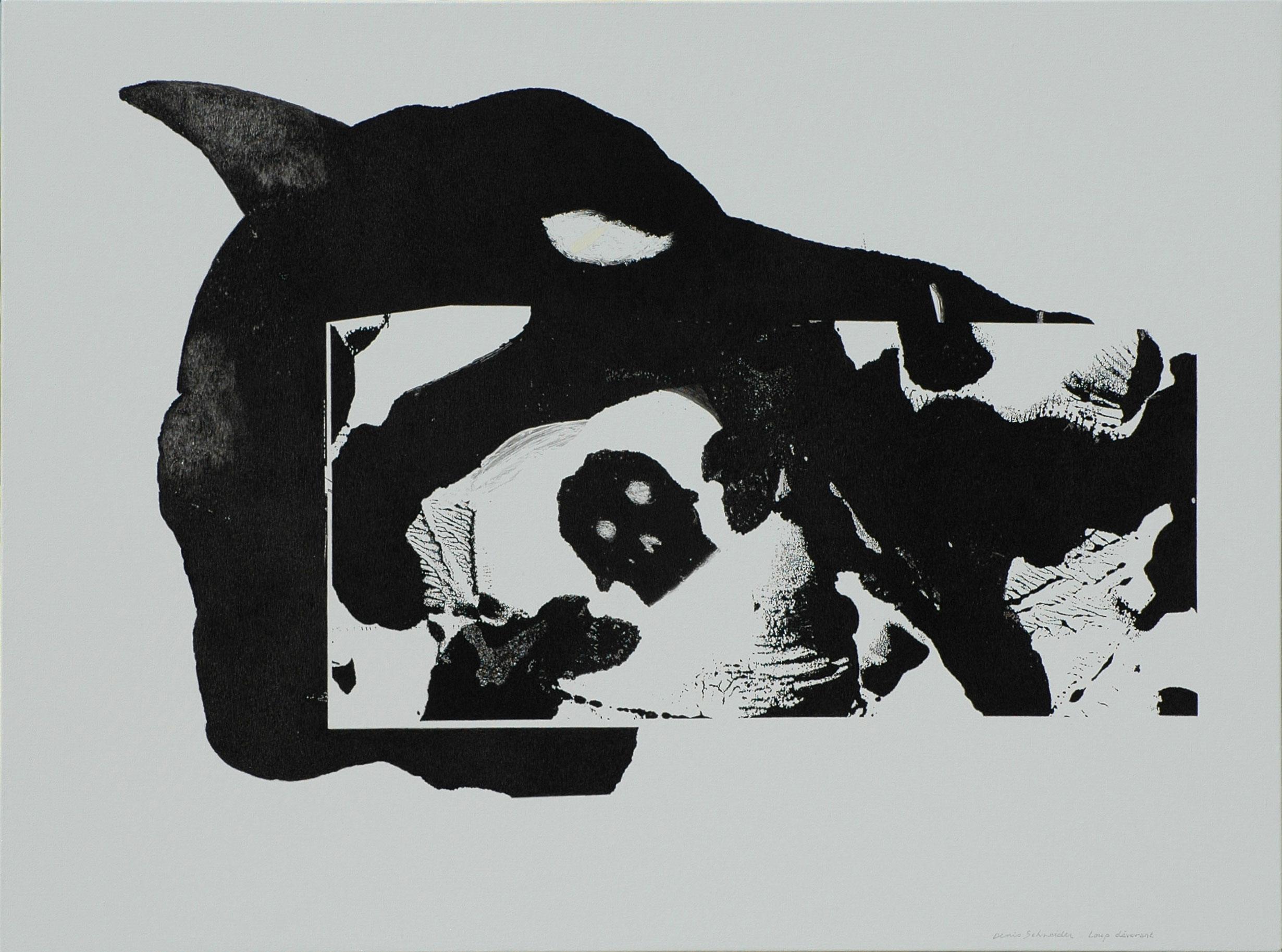 Loup devorant 87×116 – 2004